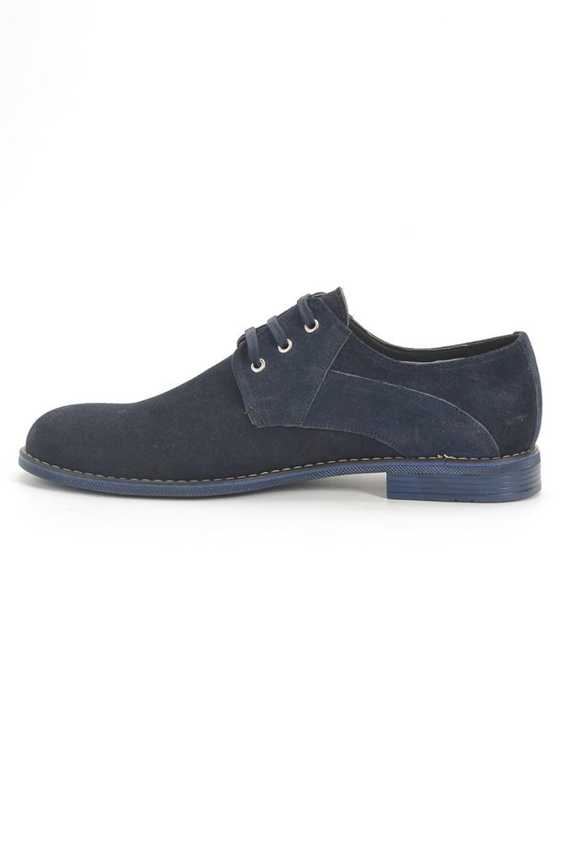 Ege Lacivert EG-600 Hakiki Deri Erkek Ayakkabı