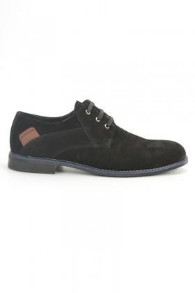 Ege Siyah EG-600 Hakiki Deri Erkek Ayakkabı