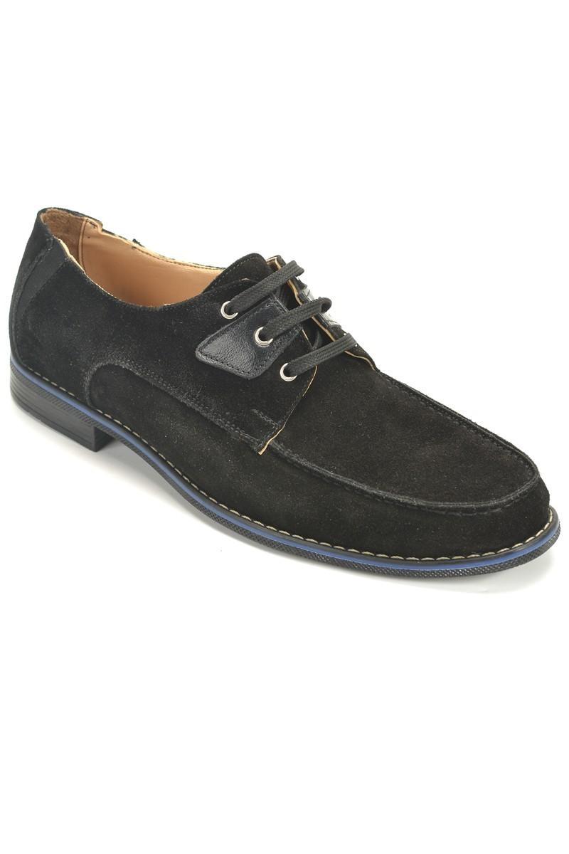 Ege Siyah EG-500 Hakiki Deri Erkek Ayakkabı