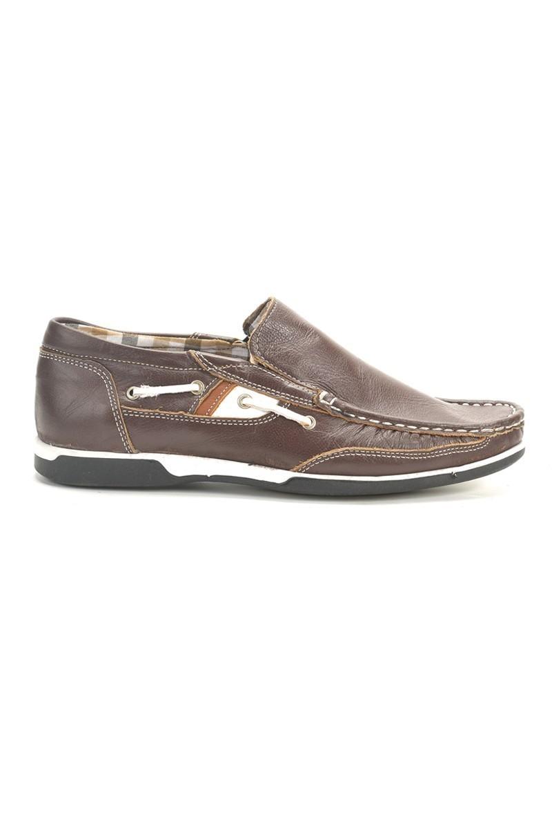 Ege Bordo EG-350 Hakiki Deri Erkek Ayakkabı