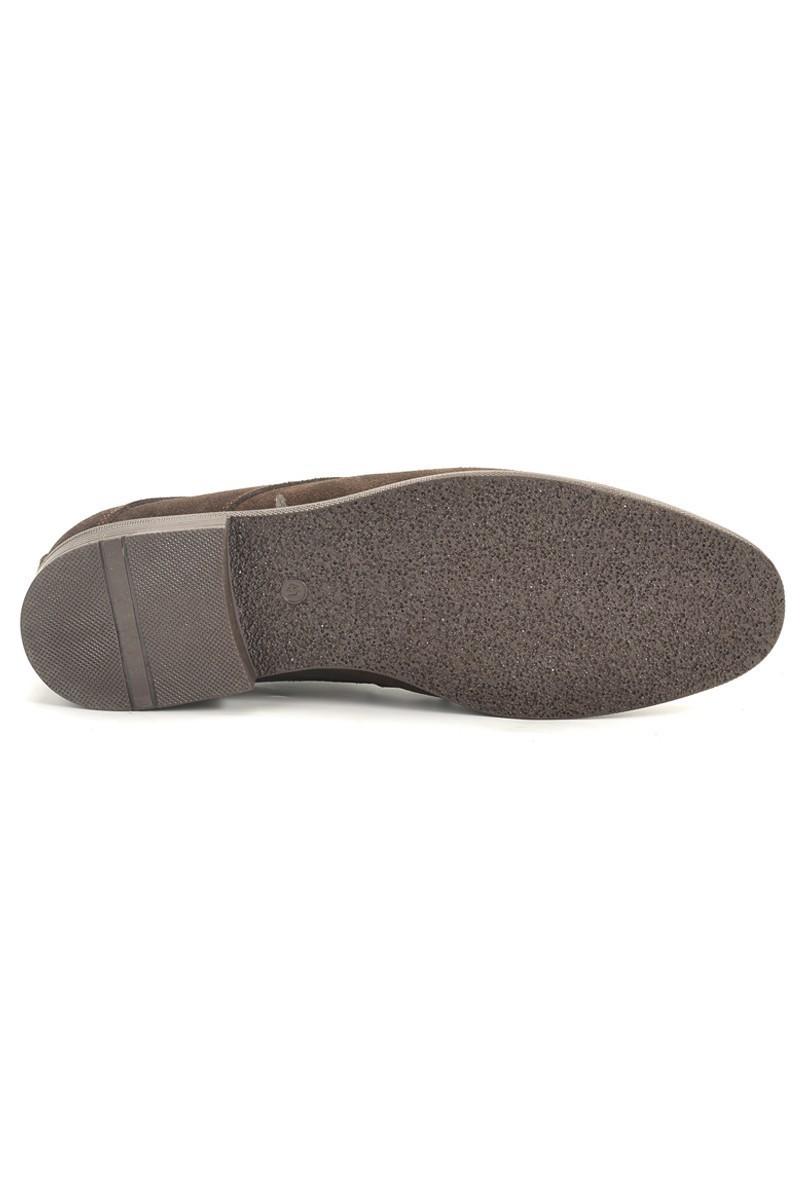 Ege Kahverengi EG-080 Hakiki Deri Erkek Ayakkabı