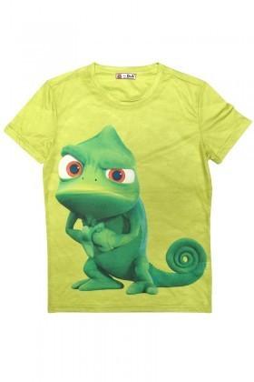 DAS Yeşil DS-M0335 3D Erkek Tişört