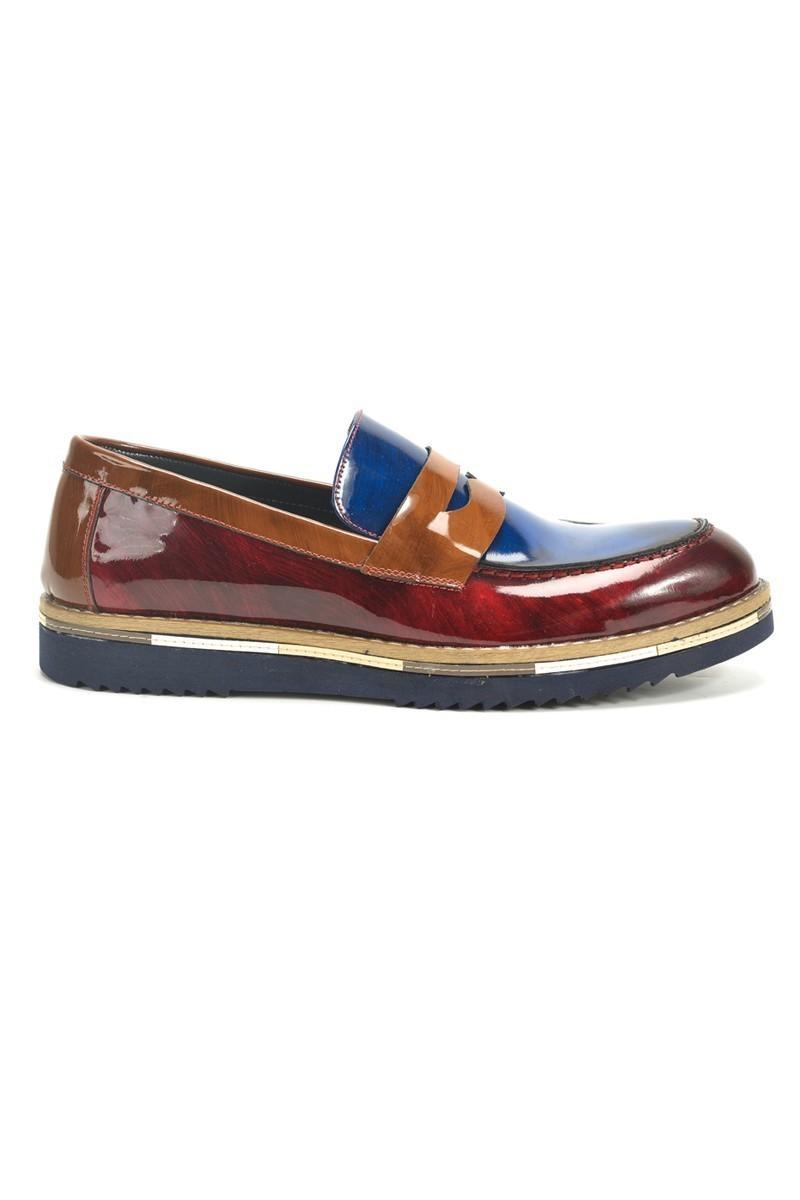 Chaos Taba TS-1536 Hakiki Deri Erkek Ayakkabı