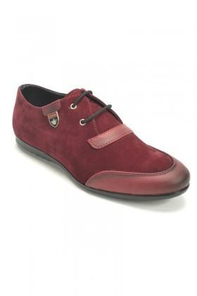 Slender Bordo SLDR-881 Erkek Ayakkabı