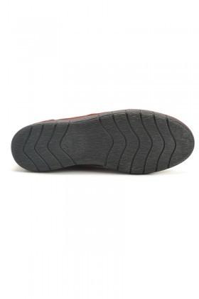 Ege Bordo EG-50005 Hakiki Deri Erkek Ayakkabı
