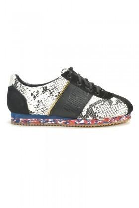 BLUESOIL Siyah-Beyaz BS-1010 Erkek Ayakkabı