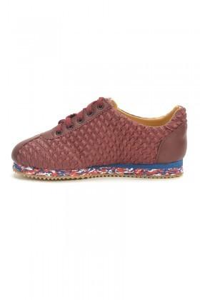 BLUESOIL Bordo BS-500 Erkek Ayakkabı