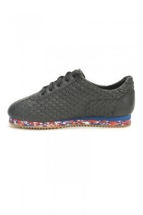 BLUESOIL Siyah BS-500 Erkek Ayakkabı