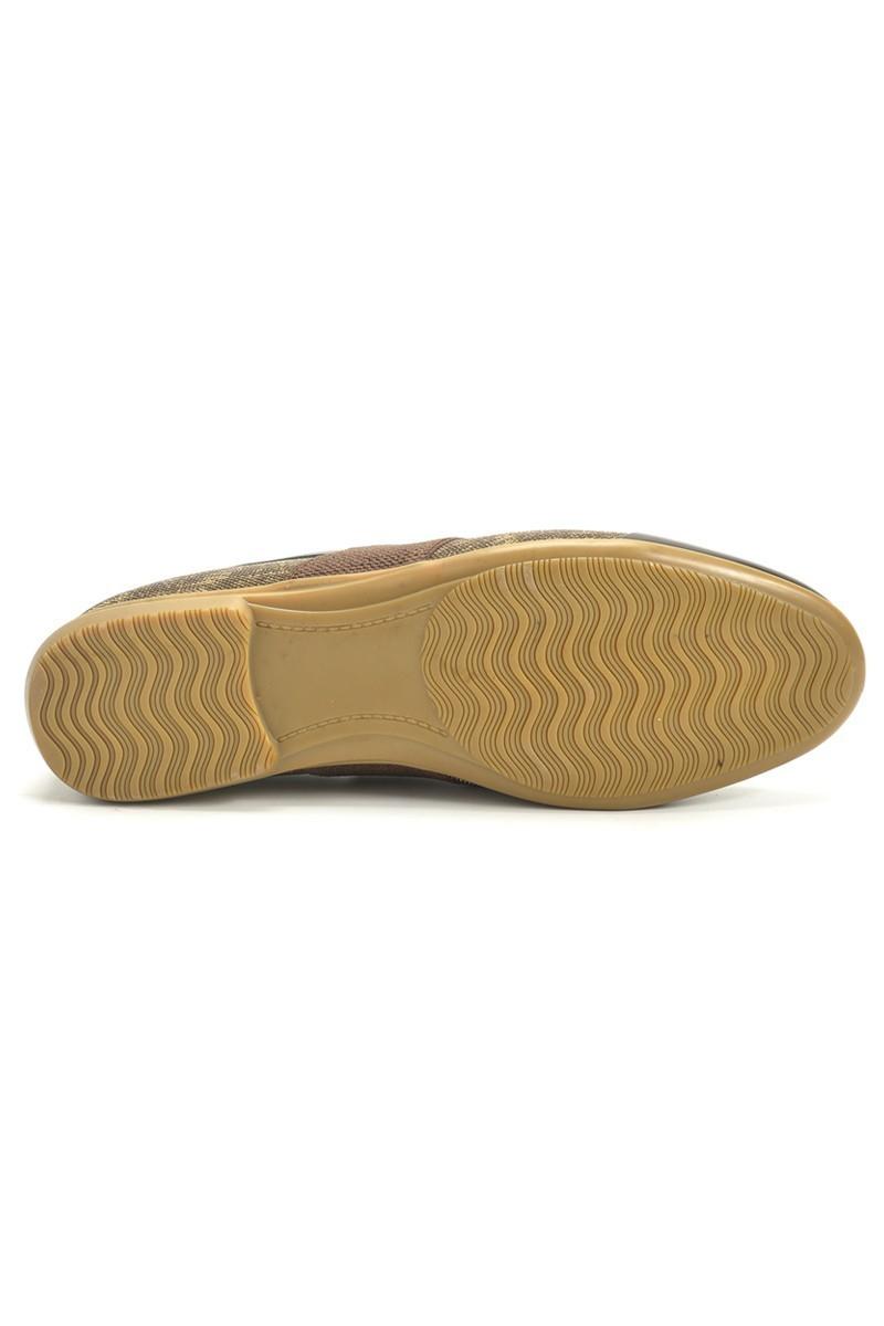 Chaos Krem TS-059 Hakiki Deri Erkek Ayakkabı