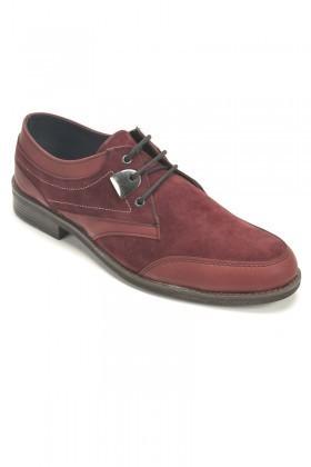 Polomen Bordo PLM-1069 Erkek Ayakkabı