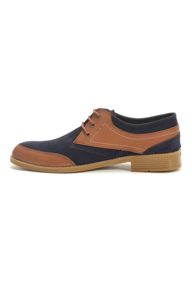 Polomen Lacivert-Taba PLM-1069 Erkek Ayakkabı