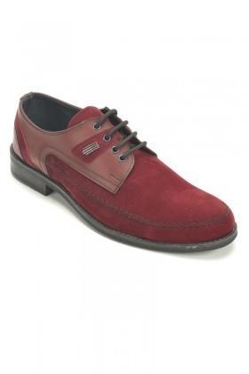 Polomen Bordo PLM-1044 Erkek Ayakkabı