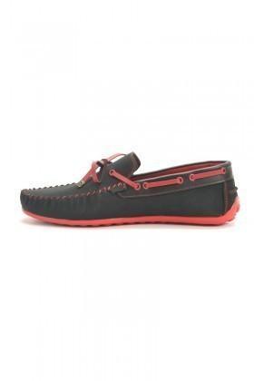 Madeno Siyah-Kırmızı MDN-3005 Erkek Ayakkabı