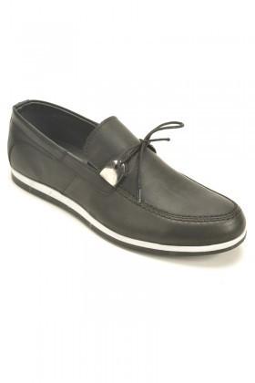 Polomen Siyah PLM-1065 Erkek Ayakkabı