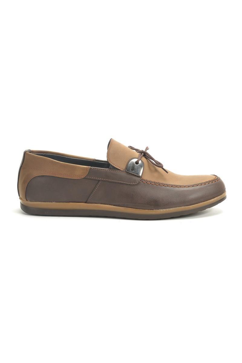 Polomen Kahverengi-Taba PLM-1065 Erkek Ayakkabı