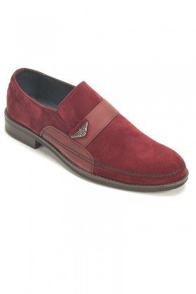 Polomen Bordo PLM-1042 Erkek Ayakkabı
