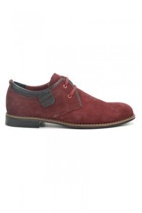 Ege Bordo EG-3636 Erkek Ayakkabı