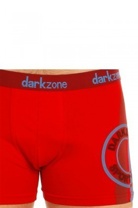 Dark Zone Kırmızı DZN-5506 Erkek Boxer