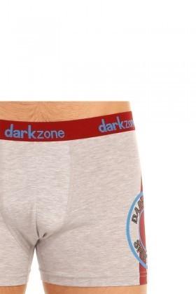Dark Zone Gri DZN-5503 Erkek Boxer