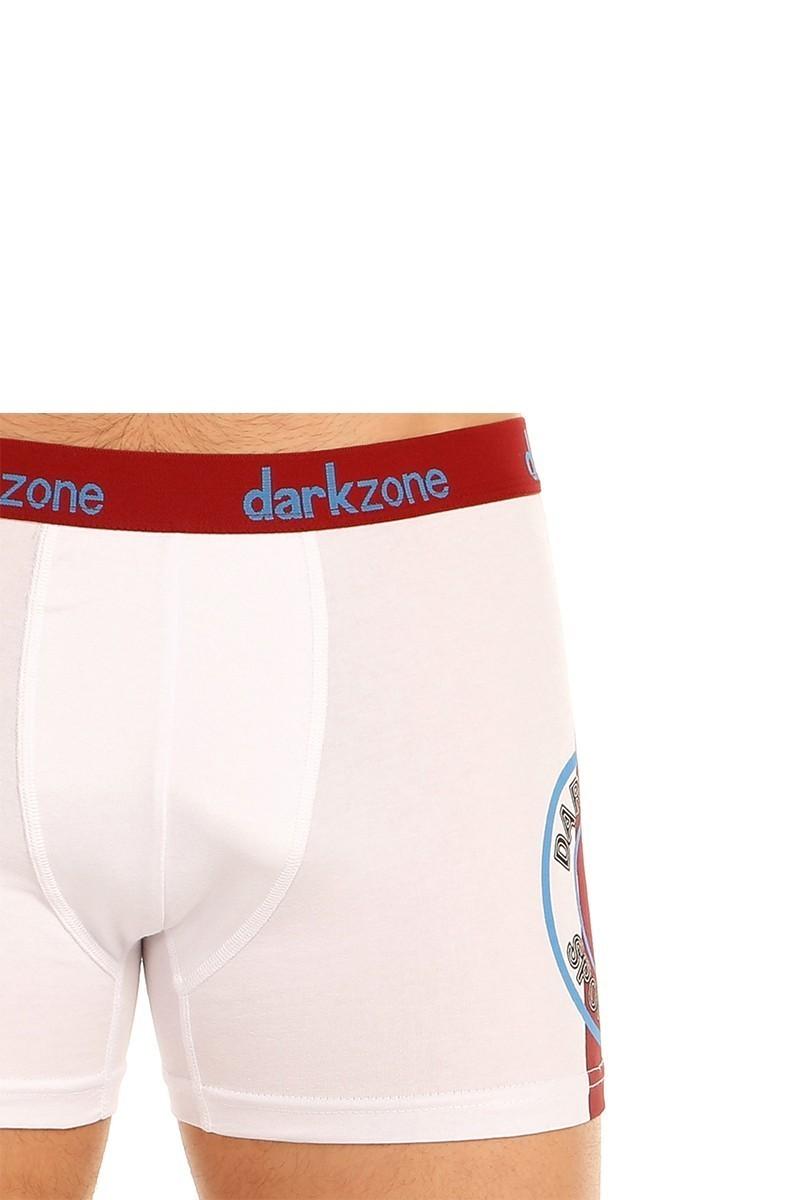 Dark Zone Beyaz DZN-5502 Erkek Boxer