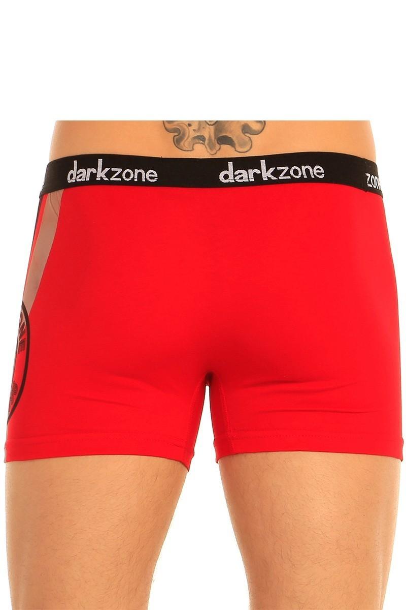 Dark Zone Kırmızı DZN-5606 Erkek Boxer