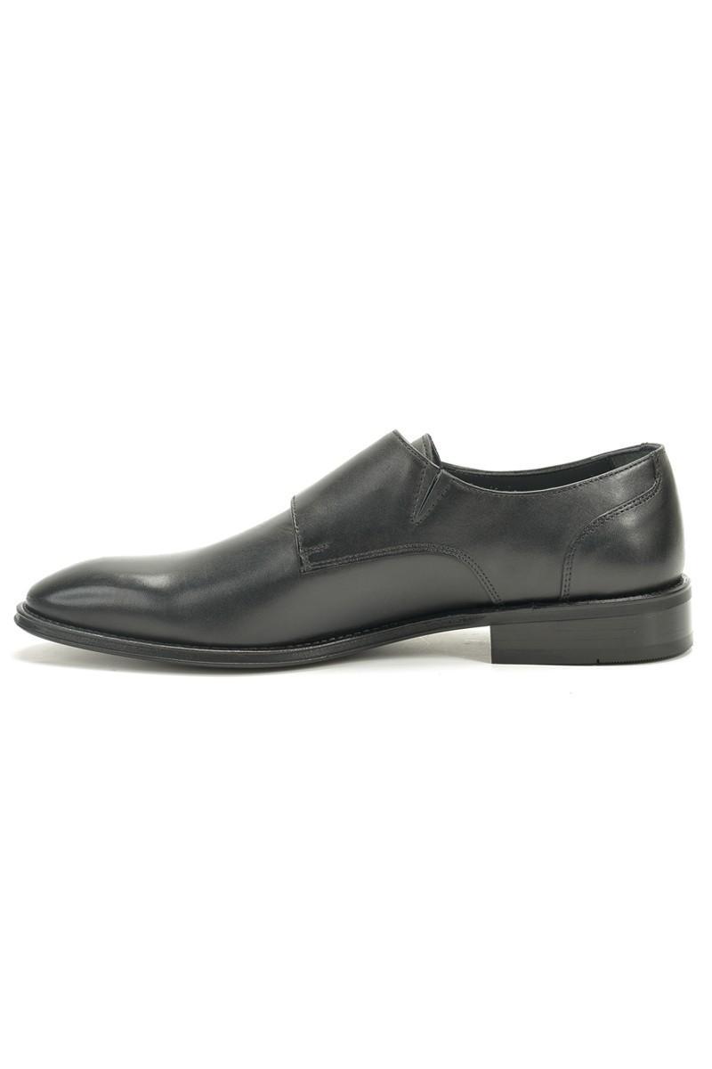 Chaos Siyah TS-2107 Hakiki Deri Erkek Ayakkabı