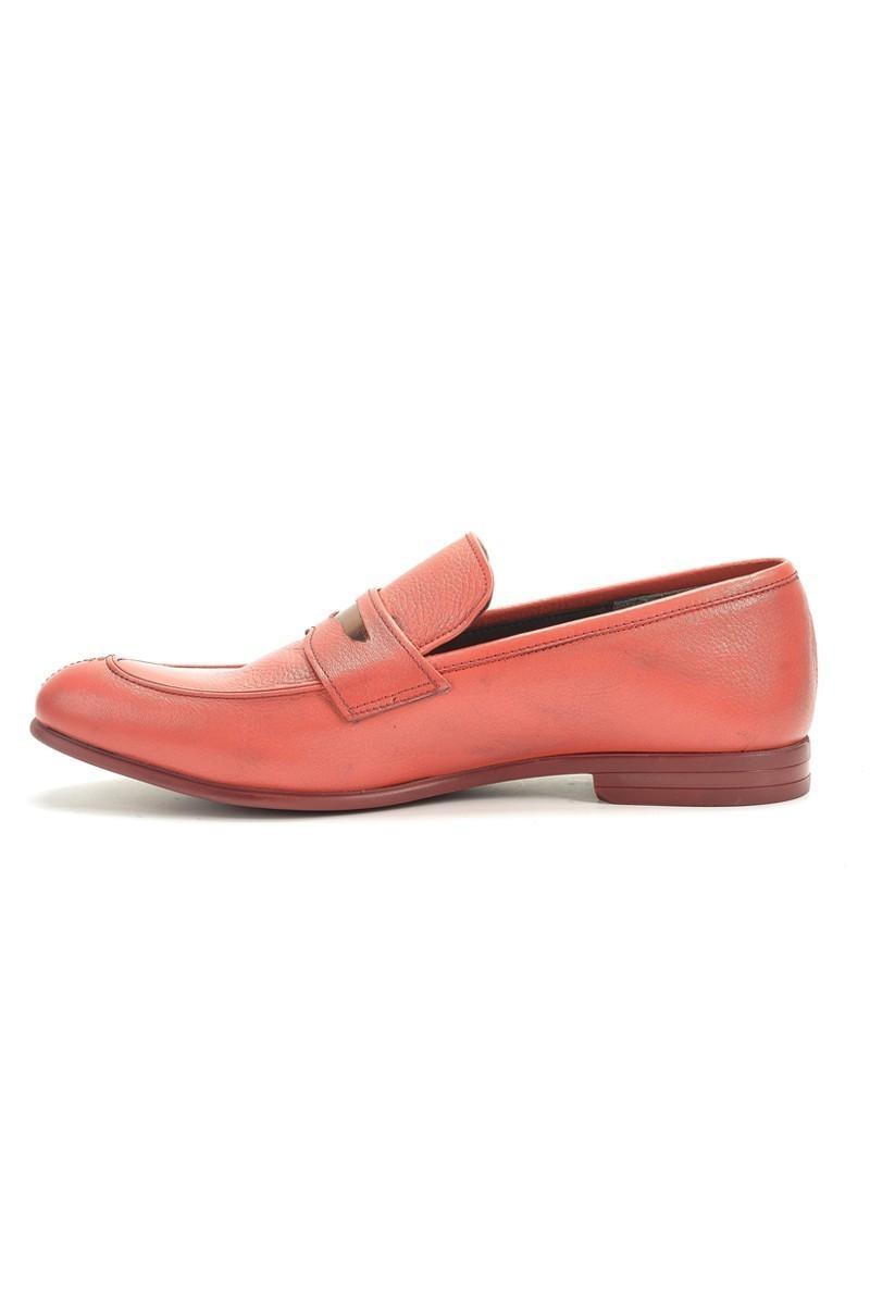 Chaos Kırmızı TS-2100 Hakiki Deri Erkek Ayakkabı