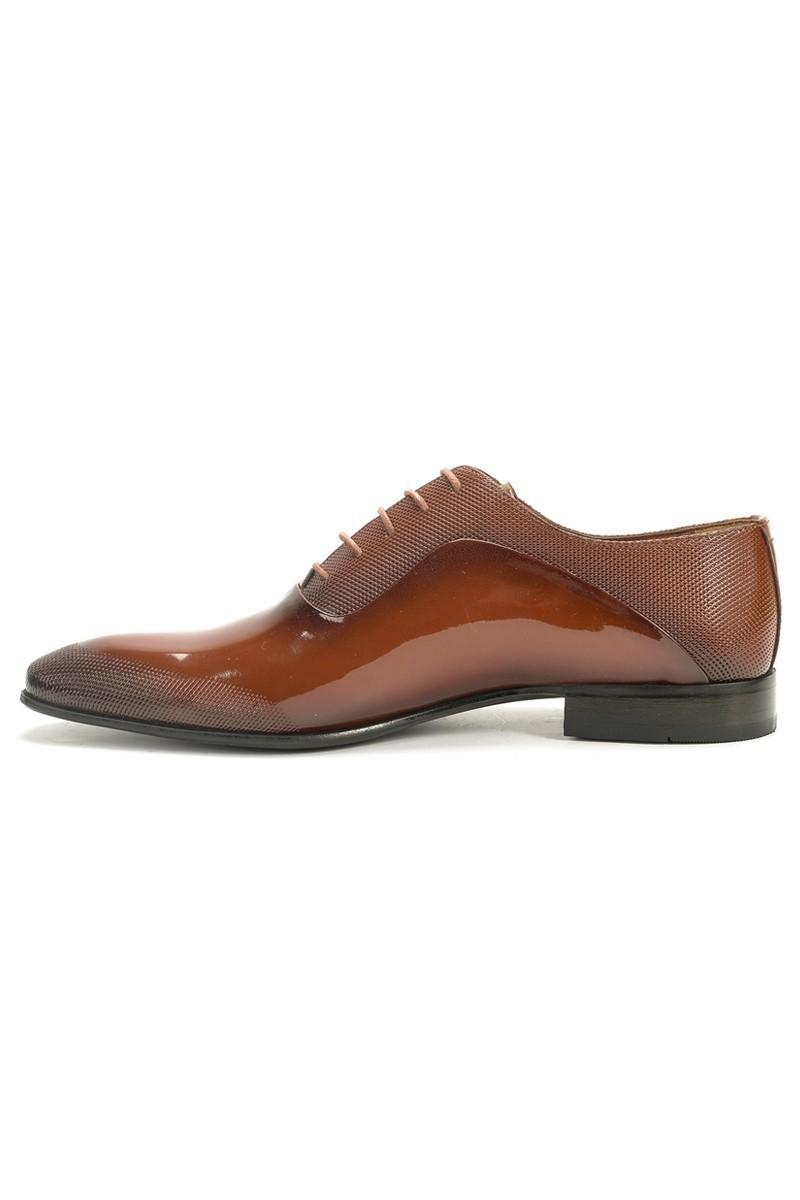 Chaos Taba TS-037-RGN Hakiki Deri Erkek Ayakkabı