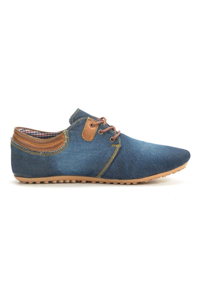 LA POLO Lacivert-Taba LPL-230 Erkek Ayakkabı