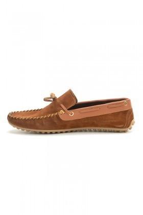 BLUESOIL Taba BS-2525 Hakiki Deri Erkek Ayakkabı