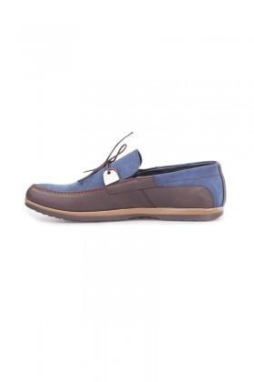 Polomen Lacivert-Kahve PLM-1065 Erkek Ayakkabı