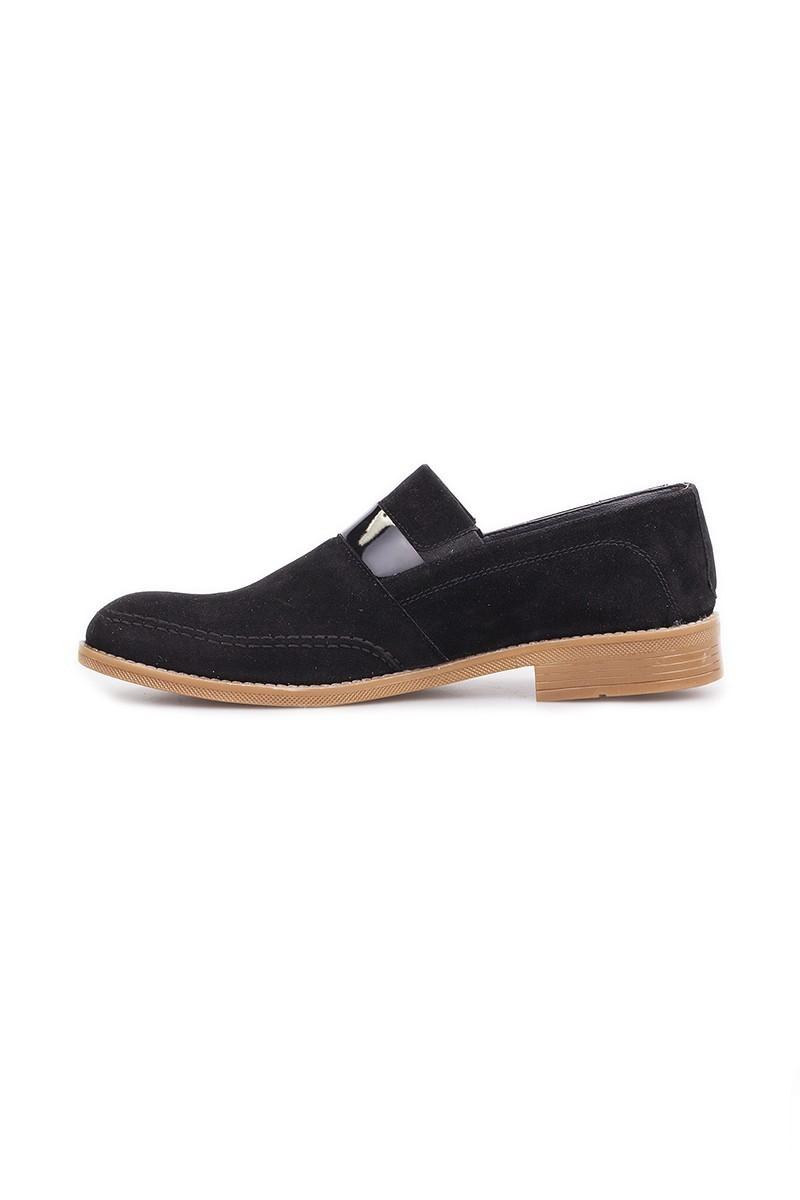 Polomen Siyah PLM-1067-SUET Erkek Ayakkabı