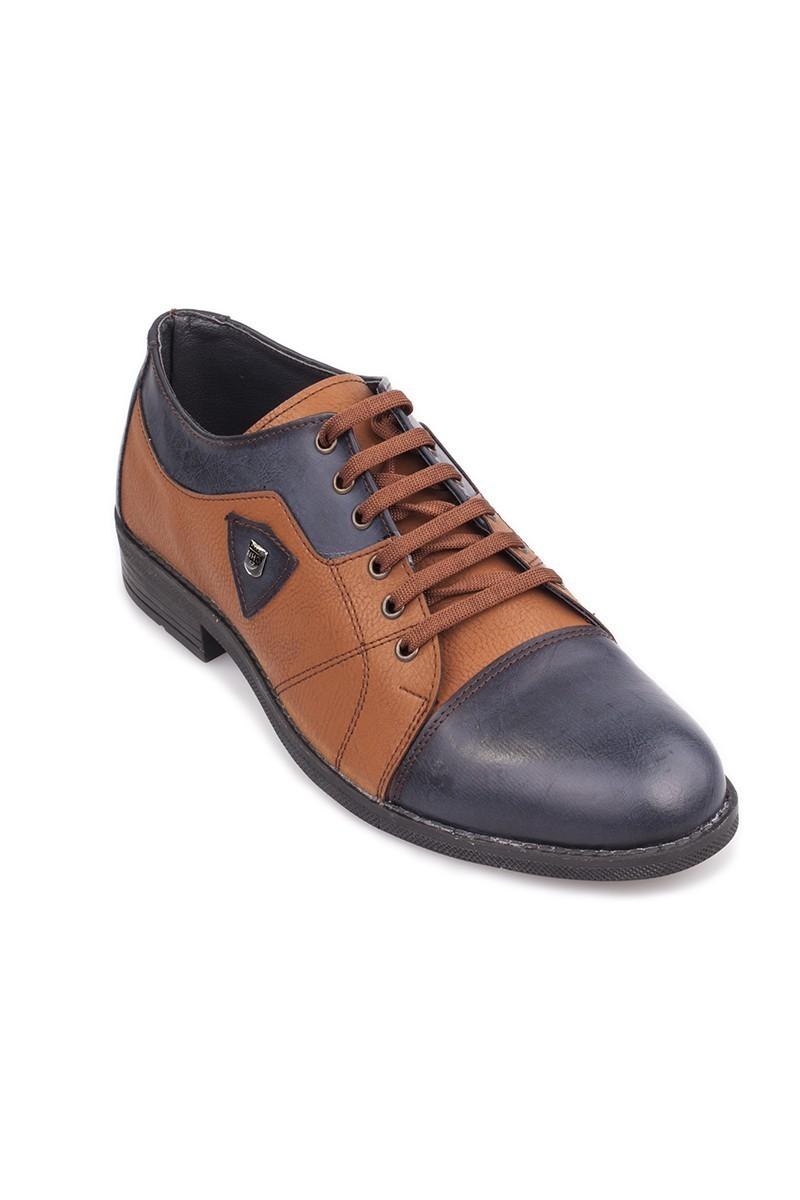 Polomen Taba-Lacivert PLM-1064 Erkek Ayakkabı