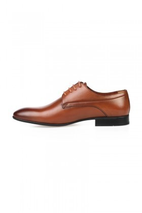 Chaos Taba TS-2084 Hakiki Deri Erkek Klasik Ayakkabı