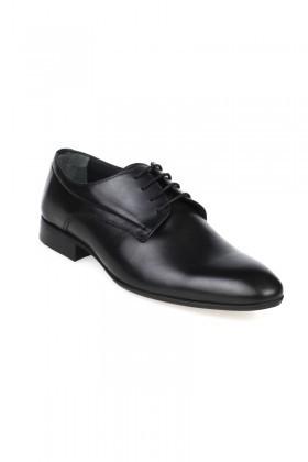 Chaos Siyah TS-2084 Hakiki Deri Erkek Klasik Ayakkabı
