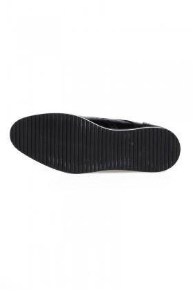 Chaos Siyah TS-2030 Hakiki Deri Erkek Ayakkabı