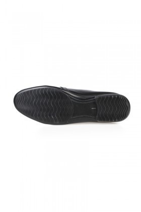 Chaos Siyah TS-058 Hakiki Deri Erkek Ayakkabı