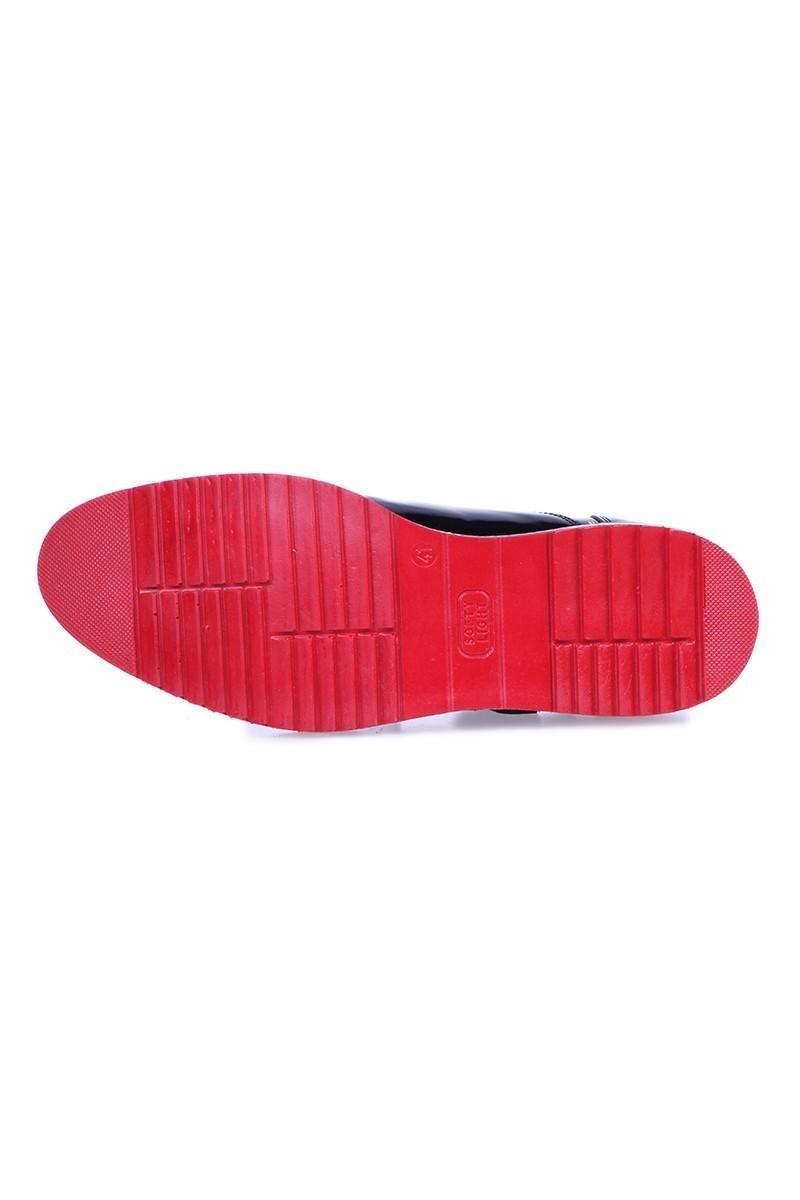 Chaos Siyah TS-1539 Hakiki Deri Erkek Ayakkabı