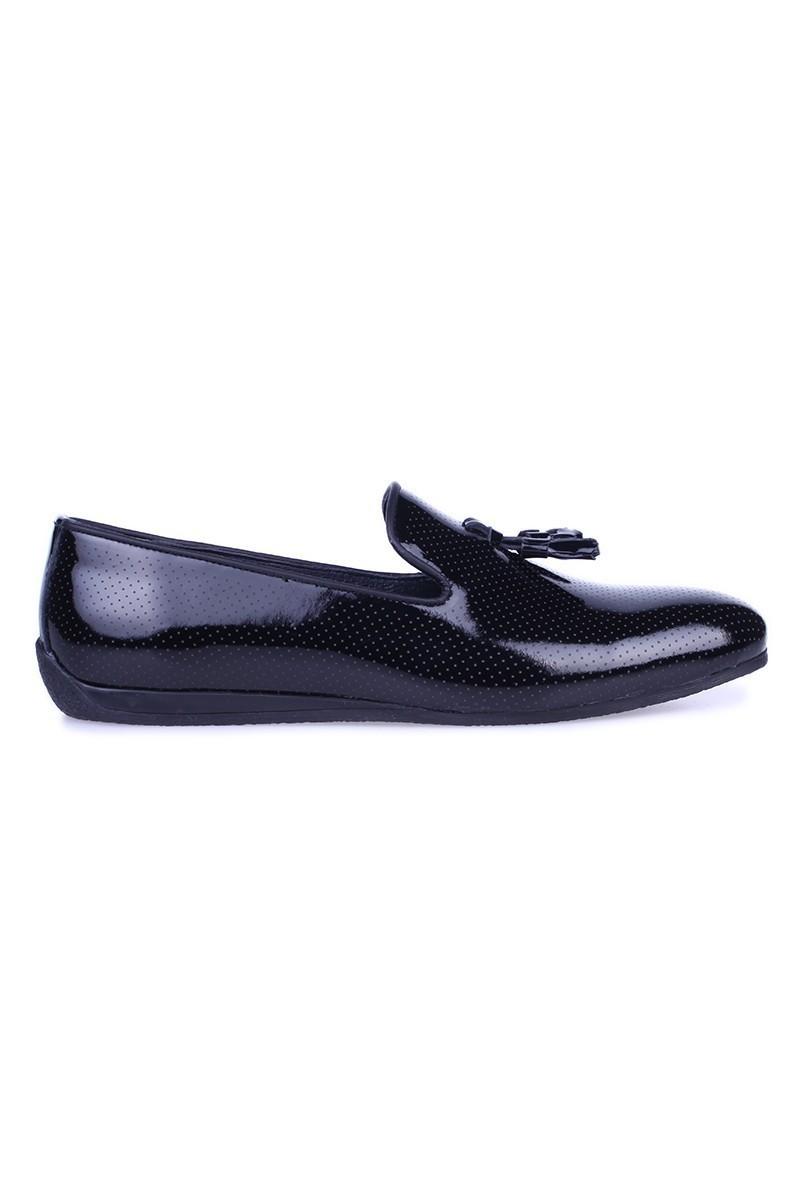 Chaos Siyah TS-02 Hakiki Deri Erkek Ayakkabı