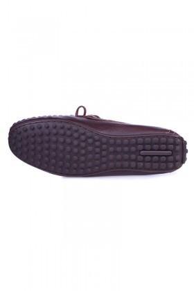 BLUESOIL Kahverengi BS-2525 Hakiki Deri Erkek Ayakkabı