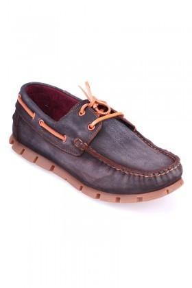Pandew Kahverengi PNDW-799 Hakiki Deri Erkek Ayakkabı