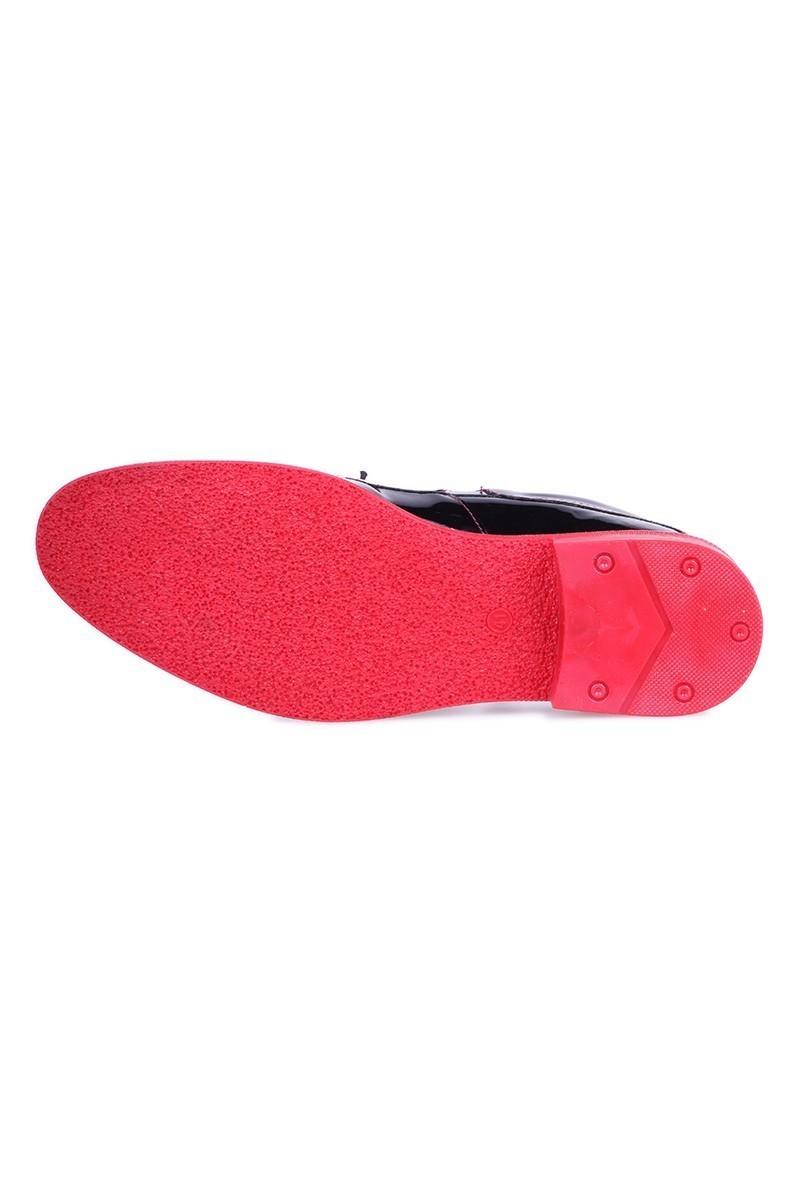 BLUESOIL Siyah-Kırmızı BS-1070 Erkek Ayakkabı