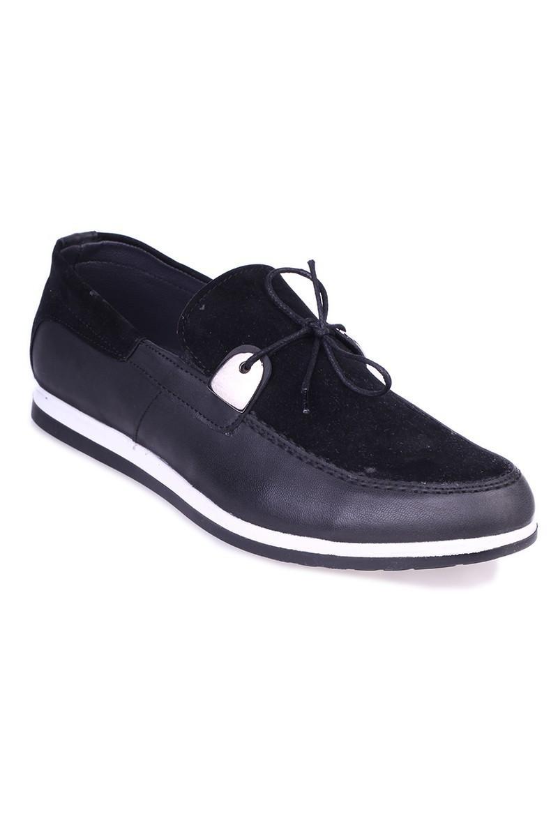 Polomen Siyah PLM-1065-SUET Erkek Ayakkabı