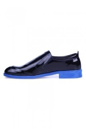 Polomen Siyah-Mavi PLM-1048 Erkek Ayakkabı