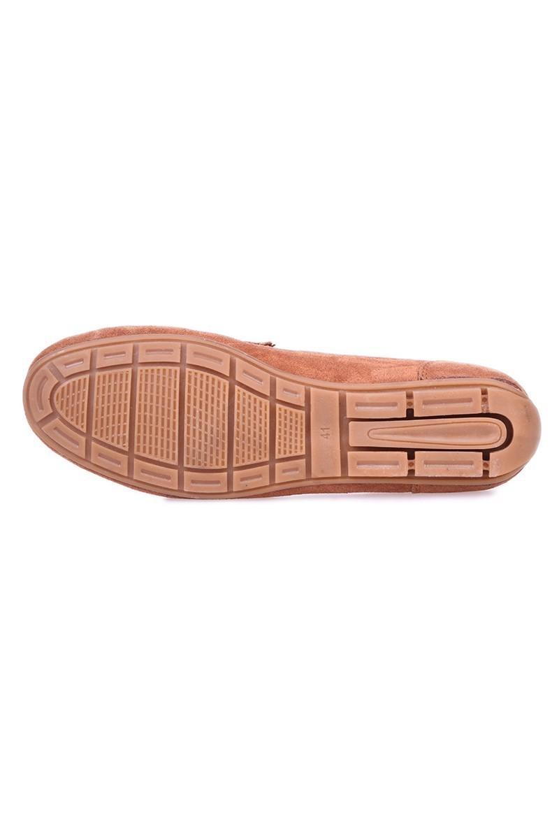 Bravelli Taba BRVL-FR-SUET Hakiki Deri Erkek Ayakkabı