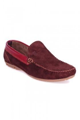 Bravelli Bordo BRVL-FR-SUET Hakiki Deri Erkek Ayakkabı