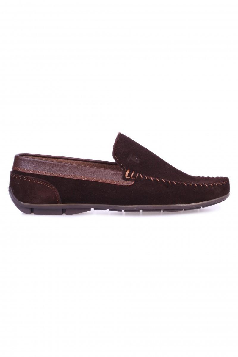 Bravelli Kahverengi BRVL-FR-SUET Hakiki Deri Erkek Ayakkabı