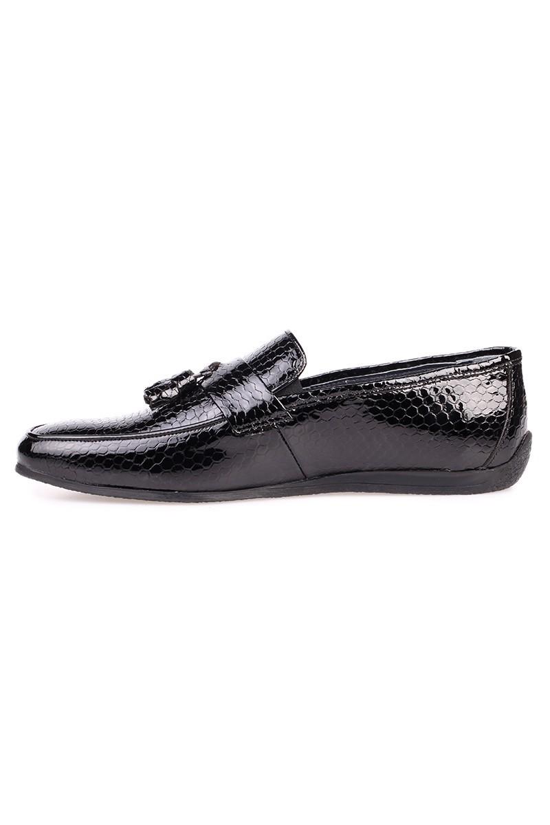 Chaos Siyah TS-03 Hakiki Deri Erkek Ayakkabı