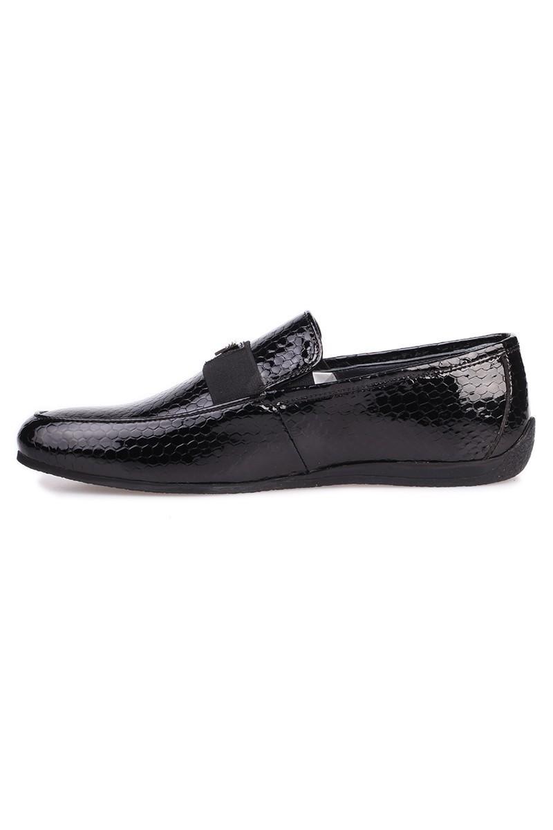 Chaos Siyah TS-04 Hakiki Deri Erkek Ayakkabı