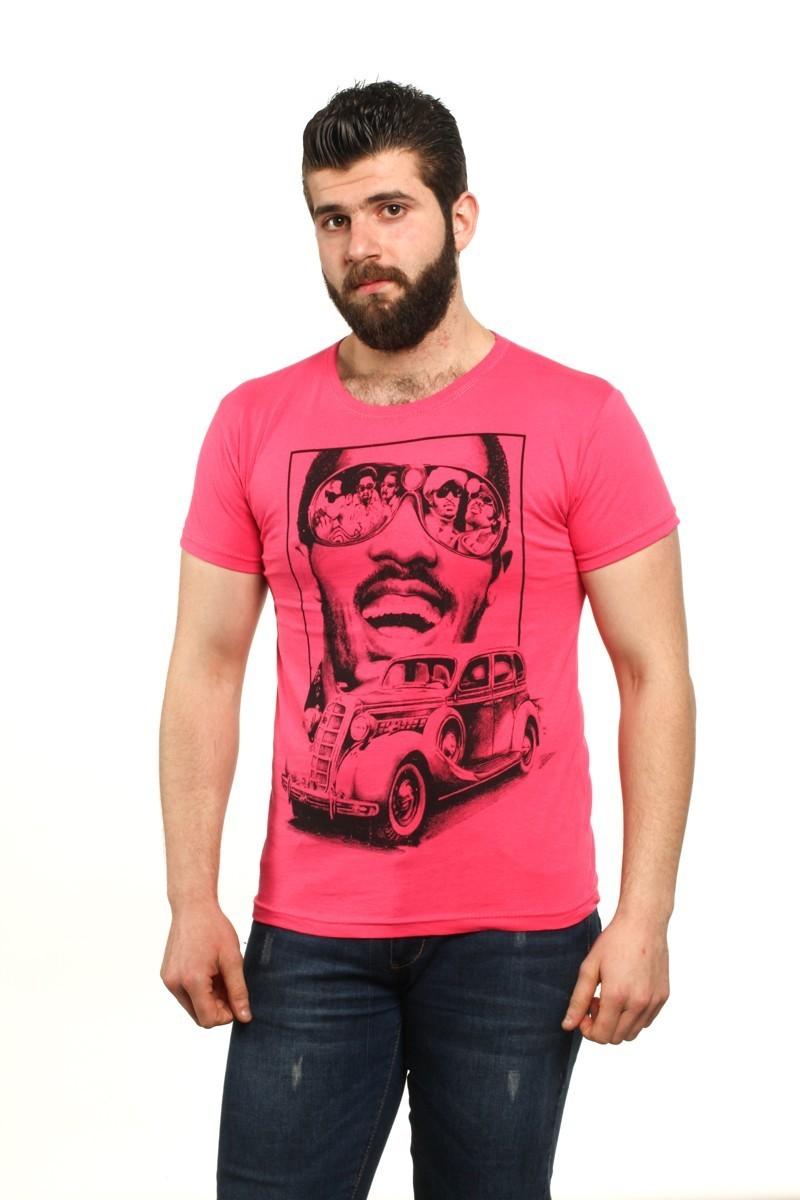 MTT Pembe MTT-530 Erkek Tişört